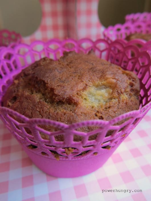 toasted millet banana muffins 1
