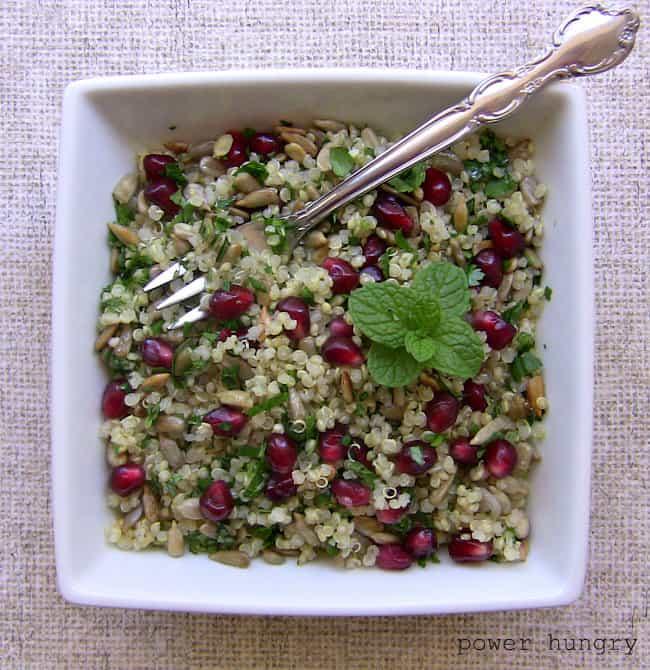 pomegranate quinoa 1