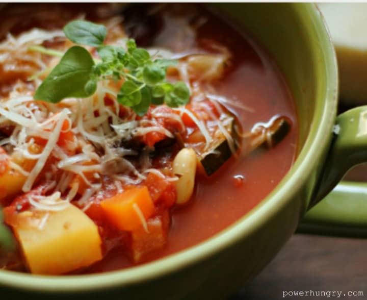 quinoa minestrone 2