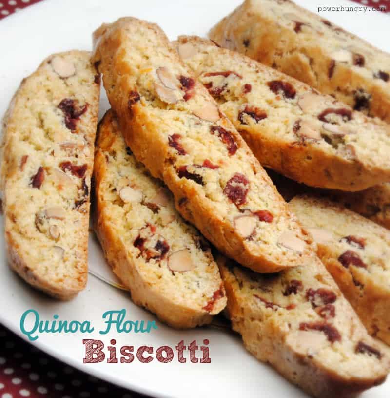 blog quinoa biscotti