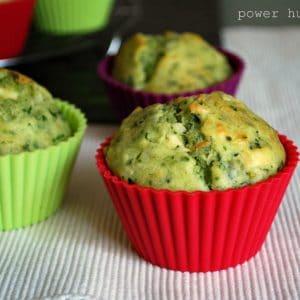 Vegan Broccoli Muffins