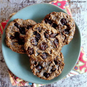 100% Flax Breakfast Cookies {grain-free, vegan, oil-free, paleo, keto option}