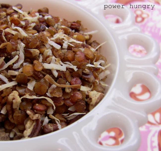 lentil granola 1