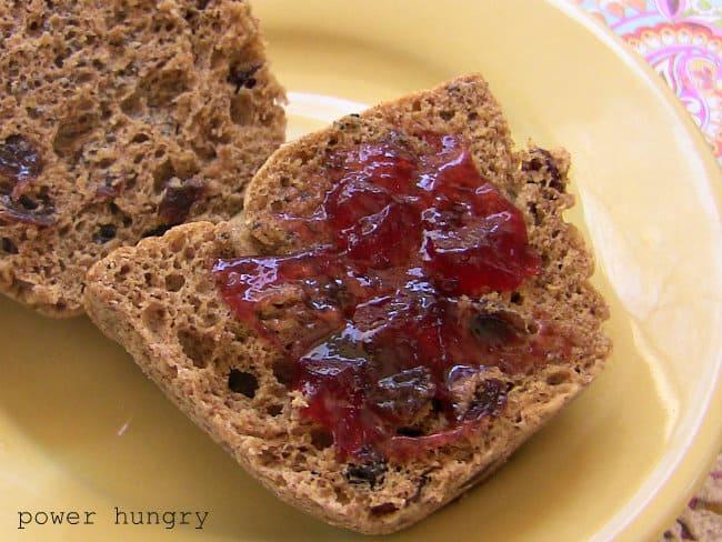 1 min flax muffin 1