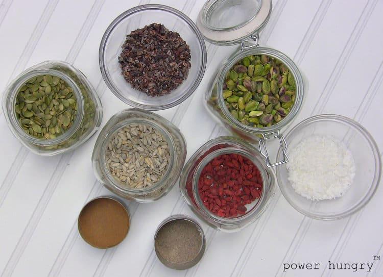 protein granola extra ingredi