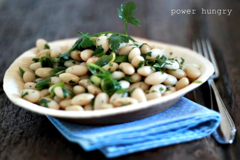camilla simple bean salad