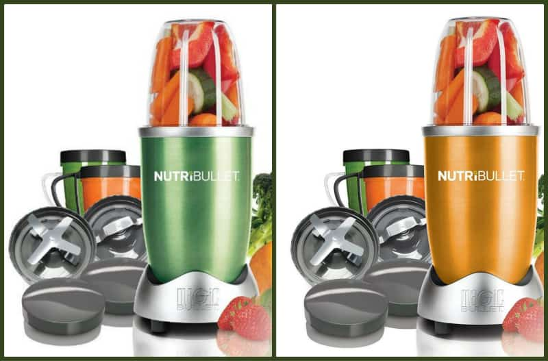 nutribullet collage