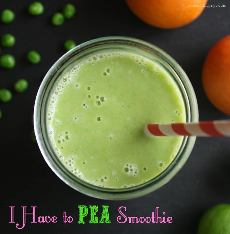 I Have To Pea Smoothie