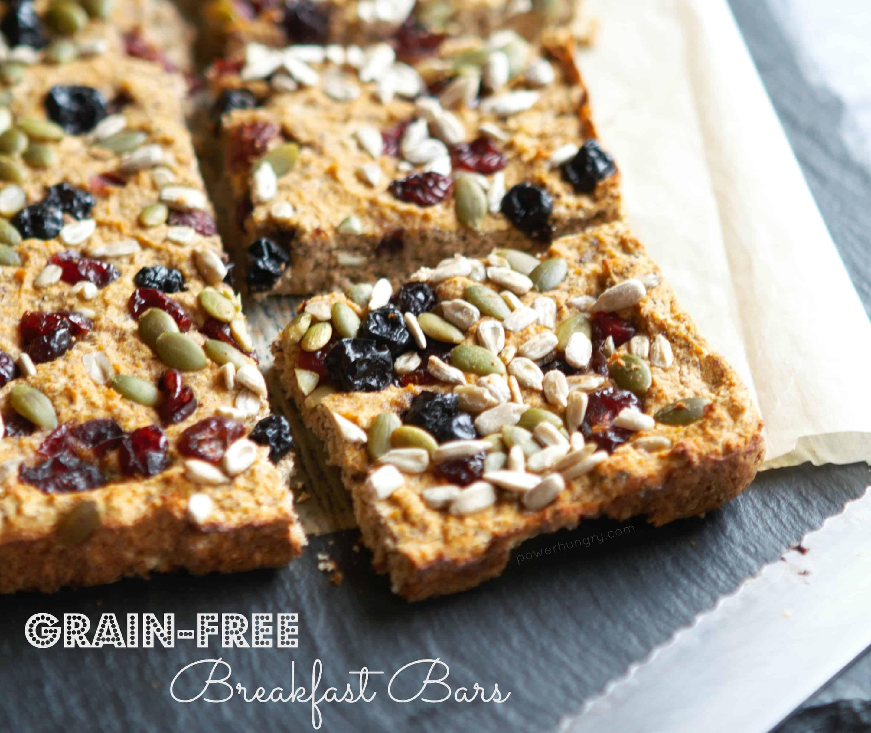 Grain-Free Breakfast Bars {Gluten-Free, Grain-Free, Nut-Free}