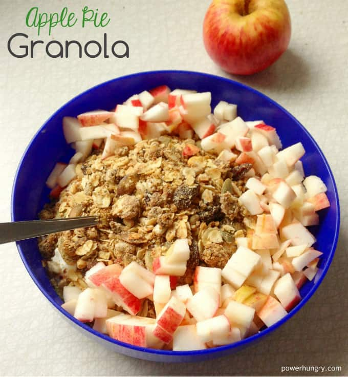 blog apple pie granola