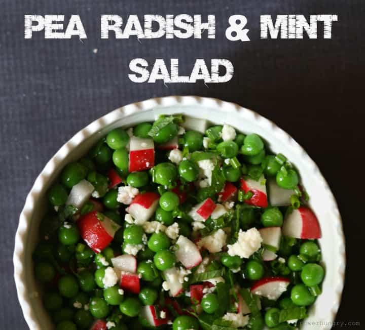pea radish salad 2