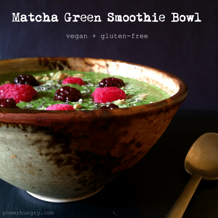 matcha smoothie bowl 3