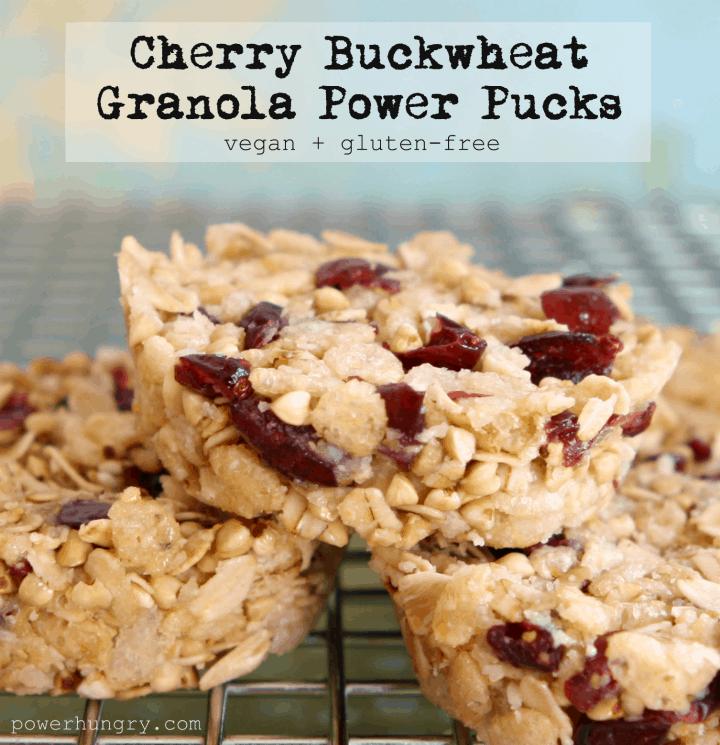 cherry buckwheat pucks 1