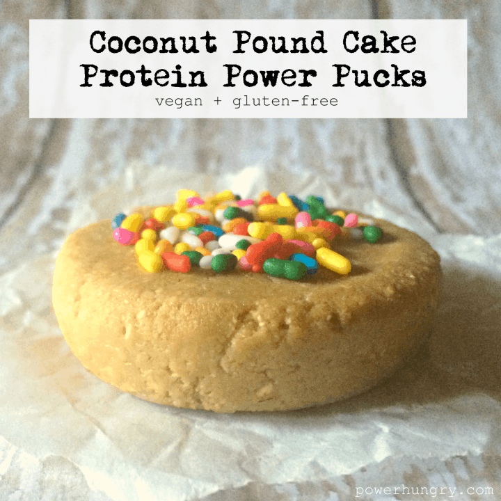 coconut pound cake protein pucks 1