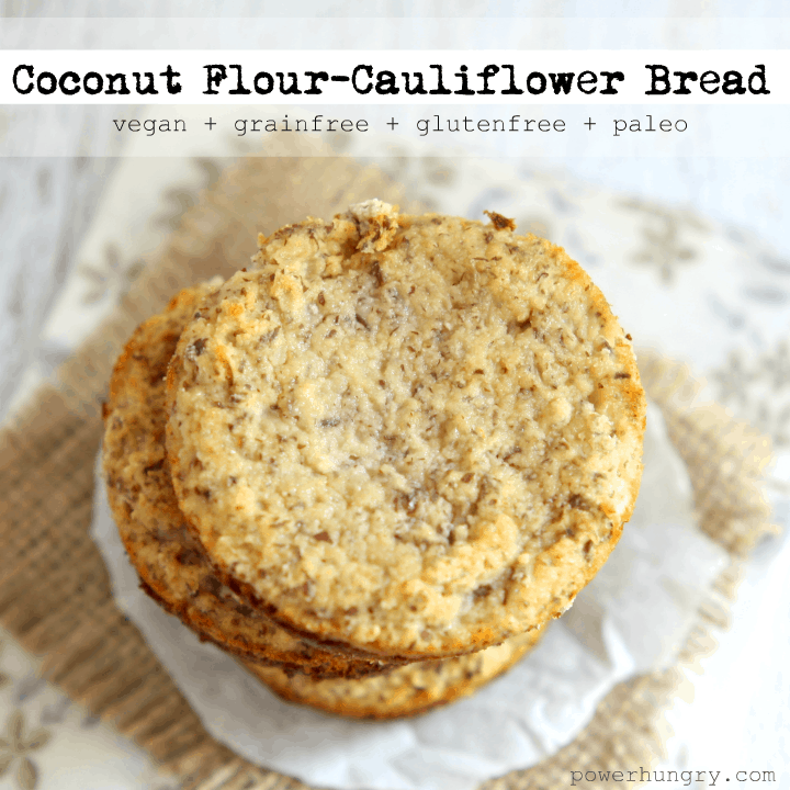 cauliflower coconut bread 1