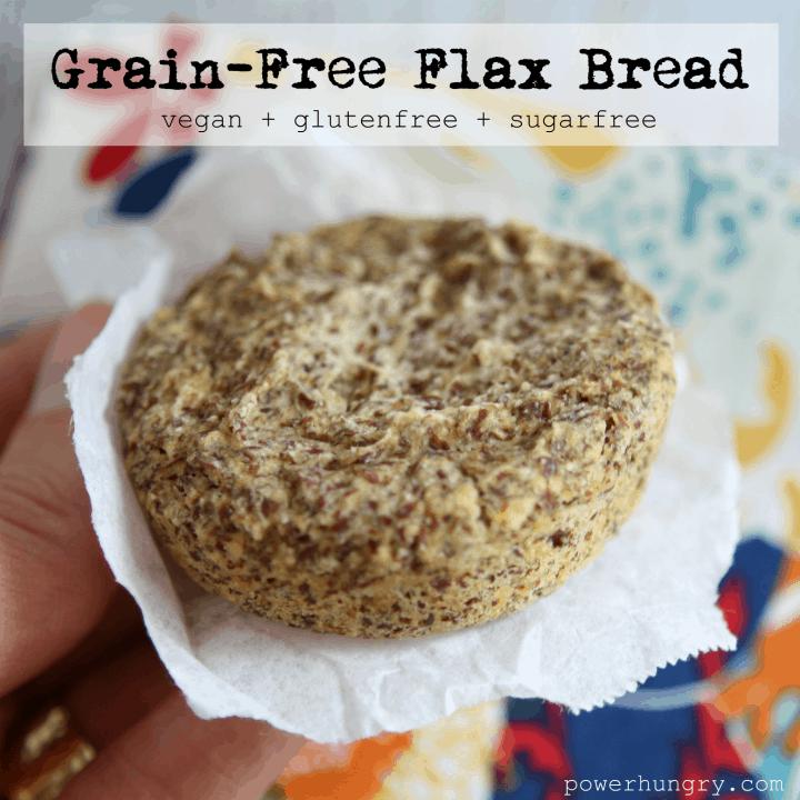 grainfree flax bread 1