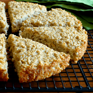 Rustic Irish Oat Scone Bread {Vegan, Gluten-Free}