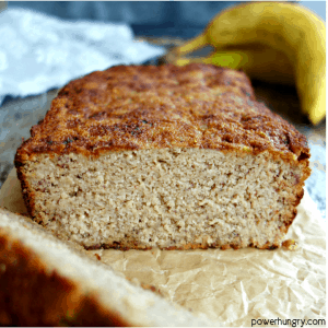 Easy Almond Flour Banana Bread {vegan, grain-free, paleo, oil-free, 5 ingredients}
